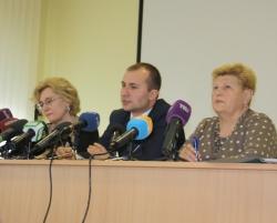 Брифінг на тему: «Санітарно-епідеміологічна ситуація в Україні щодо захворюваності на грип та ГРВІ»